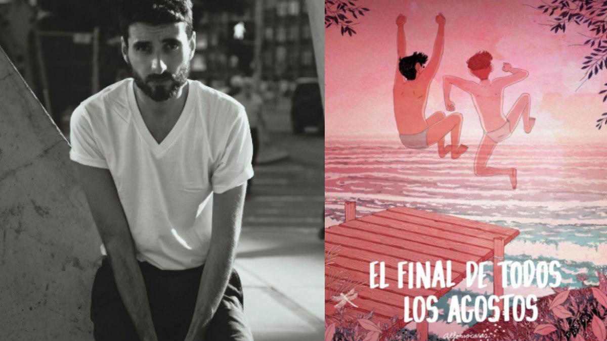Alfonso Casas y su último cómic 'El final de todos los agostos'