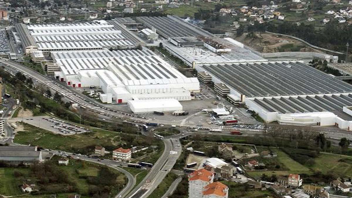 Fábrica de PSA en Vigo.