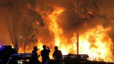 Imagen de uno de los incendios en Galicia (Foto: Efe).