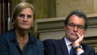 Núria de Gispert y Artur Mas en una imagen reciente (Foto: Efe).