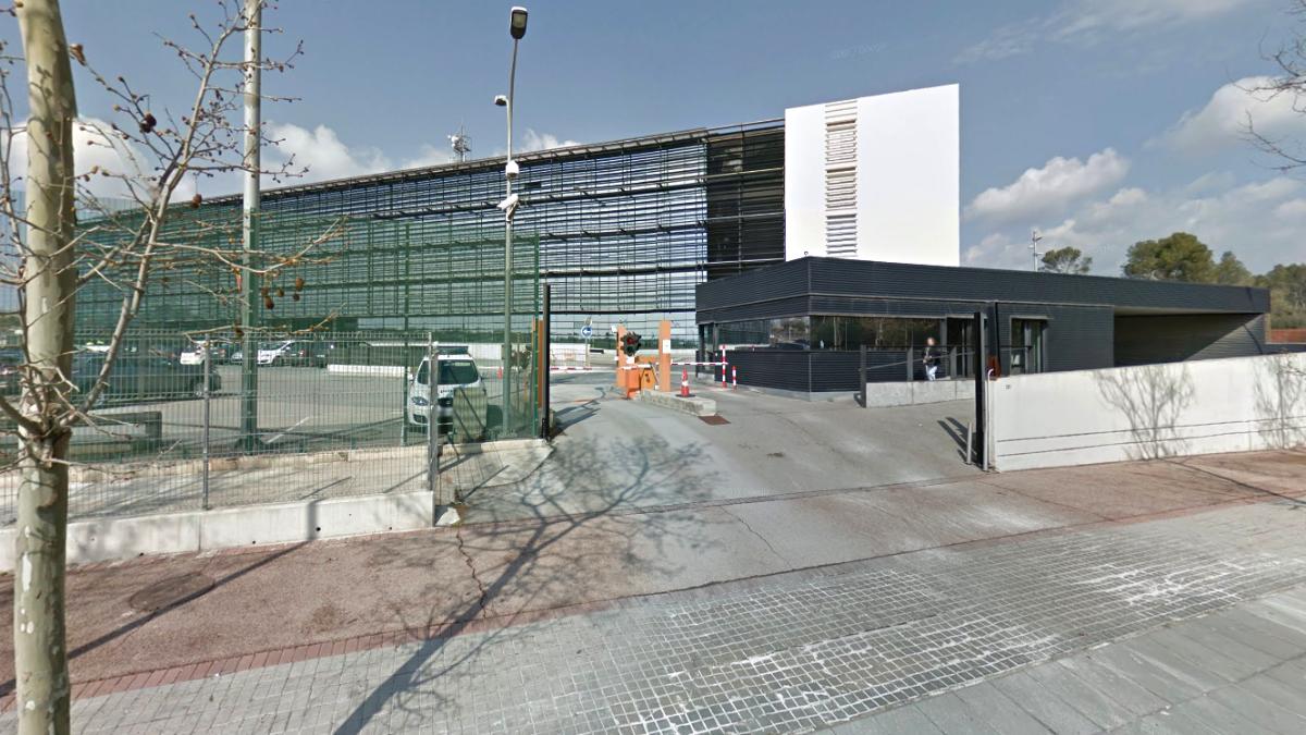 El edificio Egara de Sabadell, en el que tienen su sede central los Mossos d'Esquadra.