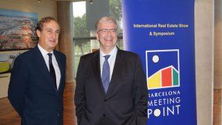 El delegado especial del Consorci de la Zona Franca de Barcelona y presidente de BMP, Jordi Cornet, y el Director General de BMP, José Mª Pons.