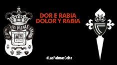 Las Palmas y Celta condenan los incendios en Galicia, Asturias y Portugal. (Twitter)