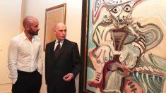 El consejero de Cultura, Turismo y Deportes, Jaime de los Santos, ha asistido hoy a la presentación de la exposición 'Picasso / Lautrec' en el Museo Nacional Thyssen-Bornemisza de Madrid.