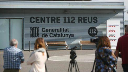Vista de la sede central del servicio de emergencias 112 de la Generalitat, en Reus (Tarragona), donde la Guardia Civil ha irrumpido hoy en búsqueda de pruebas sobre la jornada del referéndum del 1 de octubre pasado, suspendido por el Tribunal Constitucional. Foto: EFE