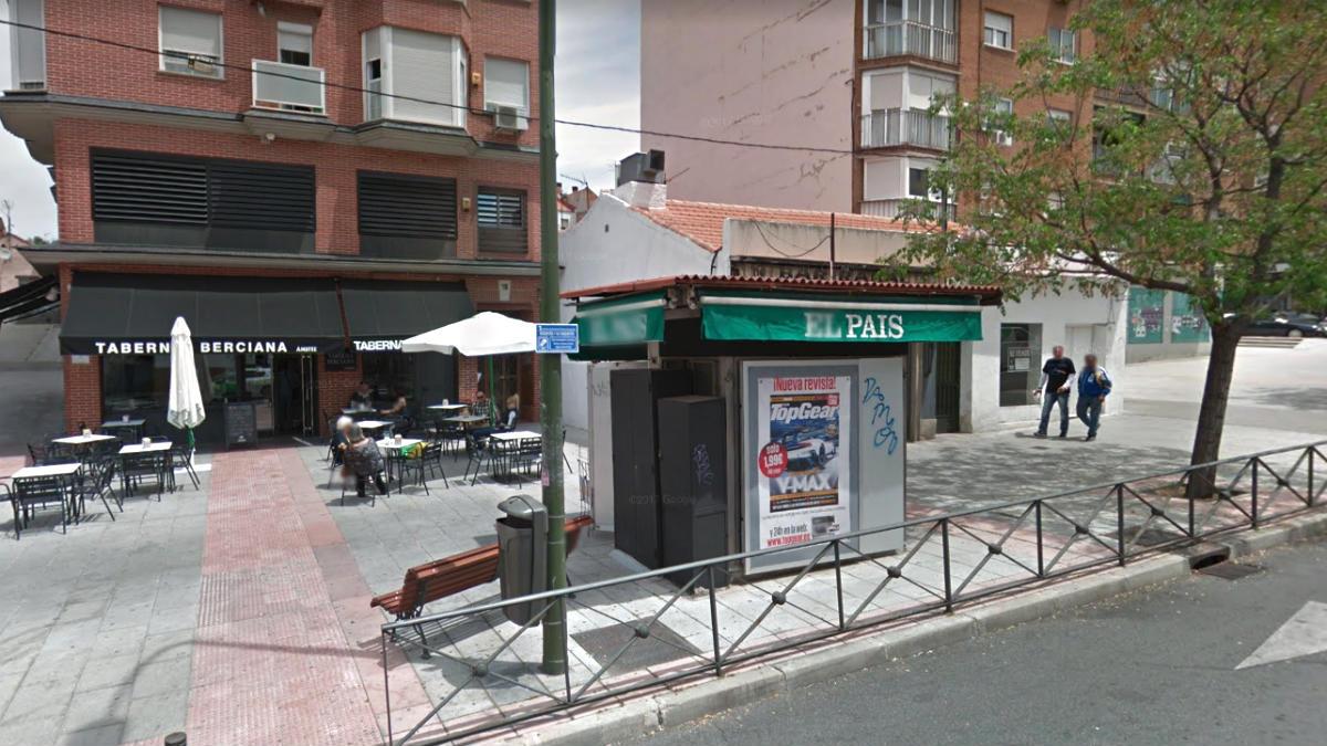 Calle Marques de Viana, 16, en Madrid, lugar del suceso.