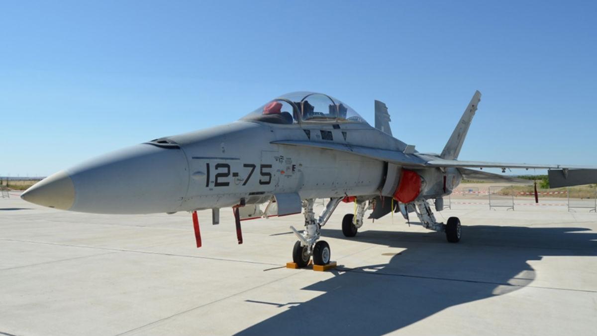 F-18 del Ejército del Aire
