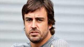 Fernando Alonso ha asegurado sentirse confiado para pelear por la zona de puntos en el Gran Premio de Estados Unidos de Fórmula 1. (Getty)