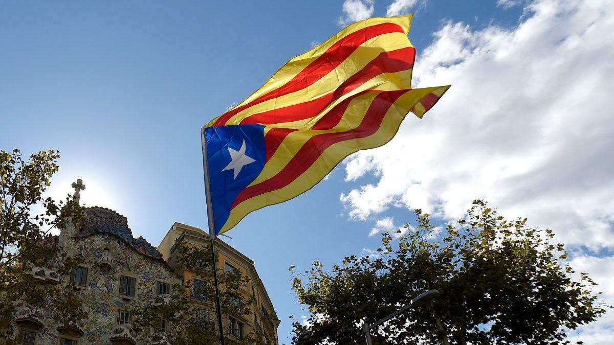 Archivo: Esteladas en Cataluña en el día de la Diada (Foto. Getty)