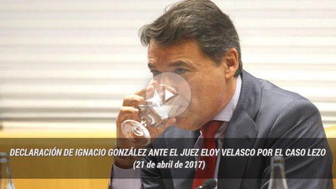 Declaración del expresidente de la Comunidad de Madrid, Ignacio González, ante el juez Eloy Velasco por el caso Lezo (21 de abril de 2017).