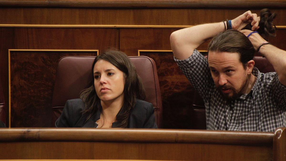 El líder de Podemos, Pablo Iglesias, en el Congreso de los Diputados. (Foto: FRANCISCO TOLEDO)