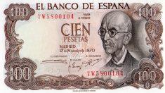 Las pesetas permanecieron en activo durante más de un siglo.