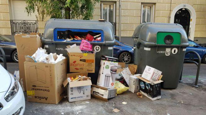 Huelga indefinida de recogida de basuras a partir del 6 de noviembre en Madrid