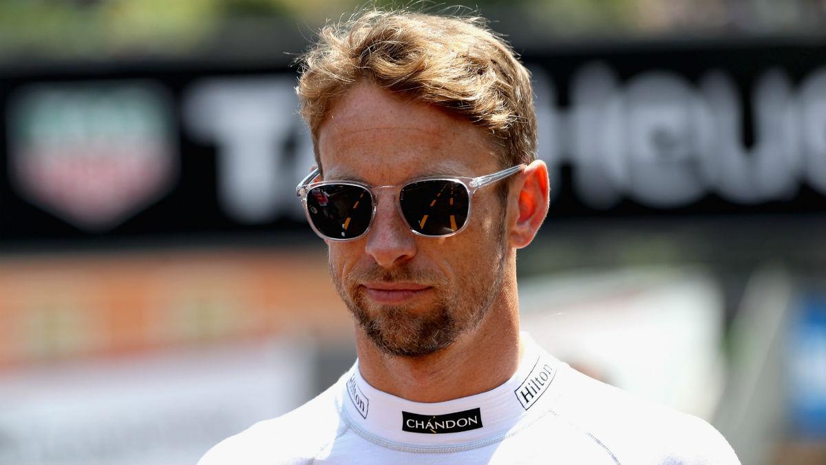 Jenson Button va a publicar una interesante auto biografía en la que, entre otras cosas, compara el rendimiento de Hamilton y Alonso. (Getty)