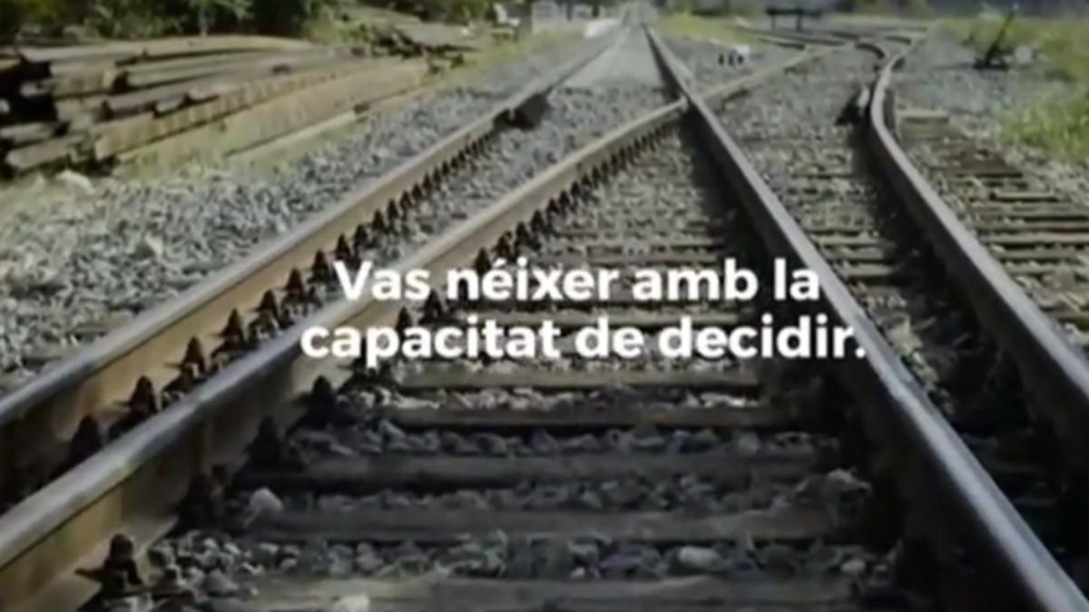Spot institucional del referéndum ilegal de independencia de Cataluña.