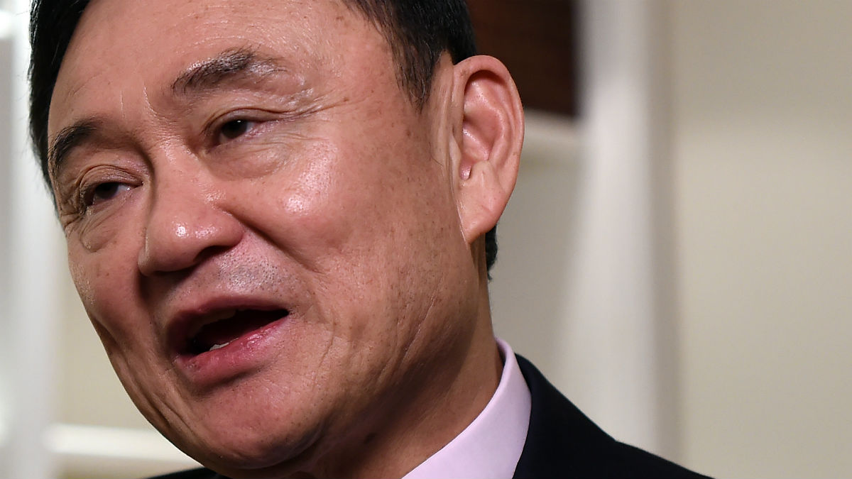Thaksin Shinawatra, ex primer ministro tailandés (Foto: AFP)