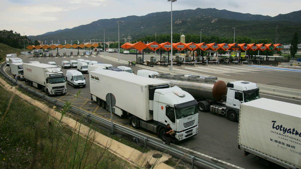 Camiones en una imagen de archivo (Foto: GETTY).
