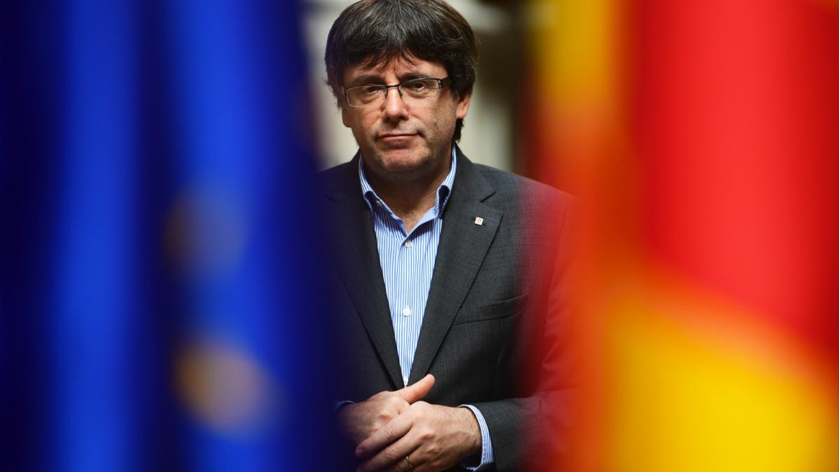 Carles Puigdemont. (Foto: AFP)