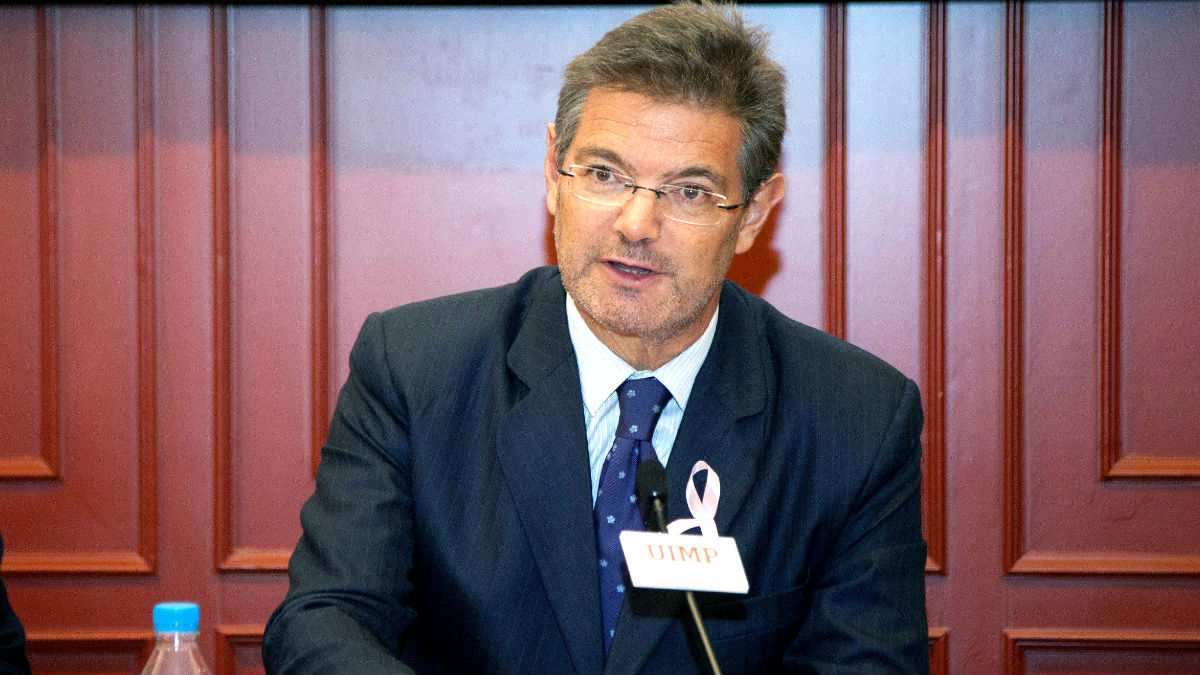 El ministro de Justicia Rafael Catalá (Foto: Efe).