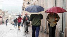 El tiempo el fin de semana en España: lluvia y frío. Foto: Agencias