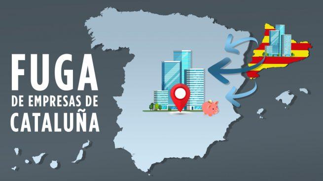 fuga empresas cataluña