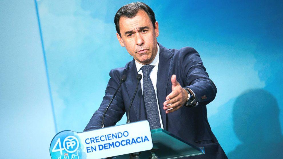 El coordinador general del PP, Fernando Martínez-Maillo. (Foto: EFE)