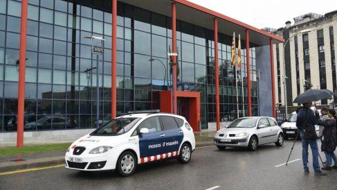 Comisaría central de los Mossos d'Esquadra en Lérida. (Foto: EFE)