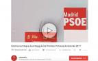 El PSOE se cuela en la señal en directo de Casa Real de los Premios Princesa de Asturias