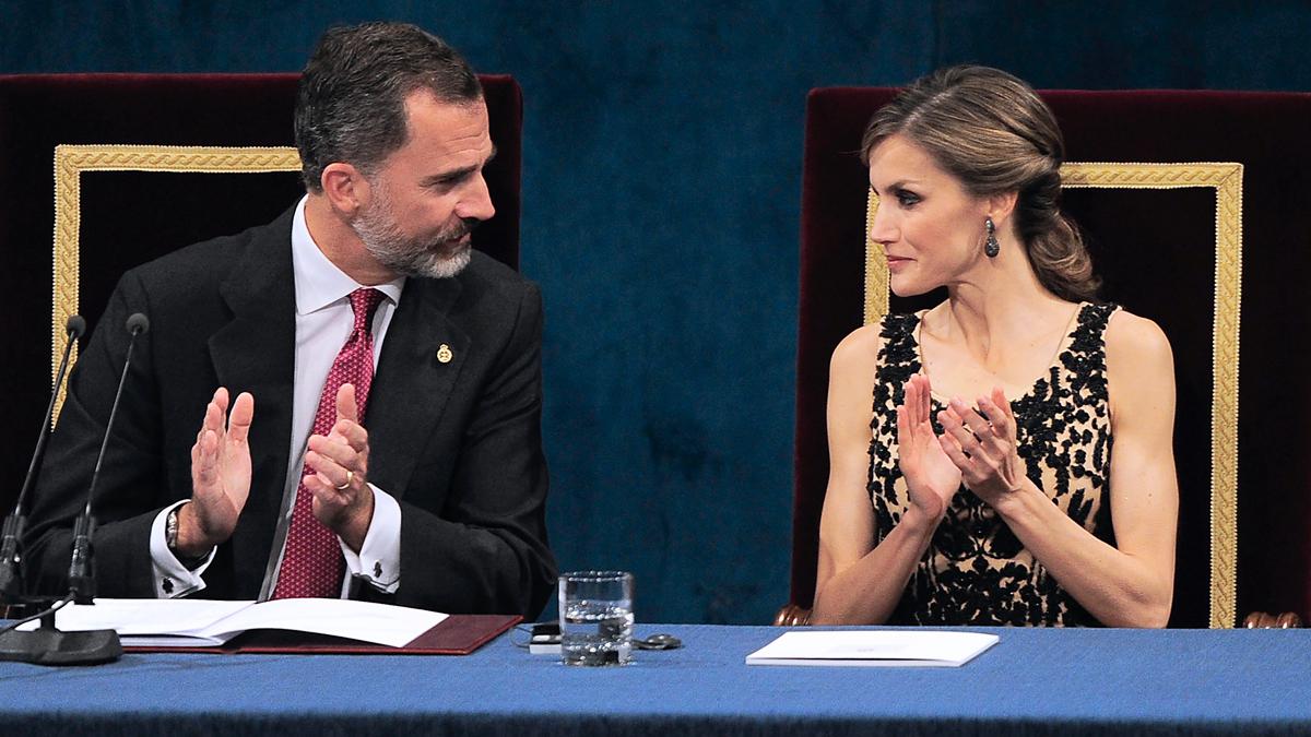 Felipe VI y doña Letizia. (Foto: AFP)
