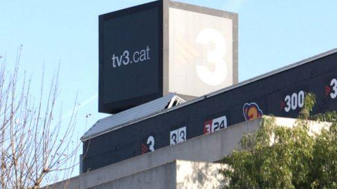 Imagen de la sede de TV3.