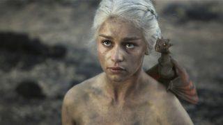 Emilia Clarke en Juego de Tronos, su papel más importante hasta la fecha.
