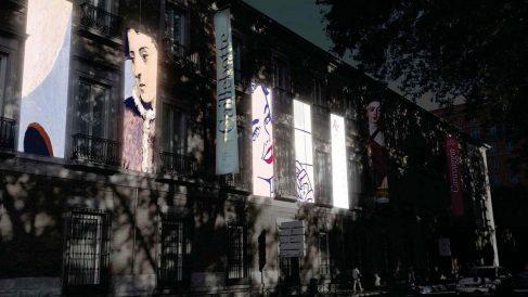 Fachada del Museo Thyssen de Madrid