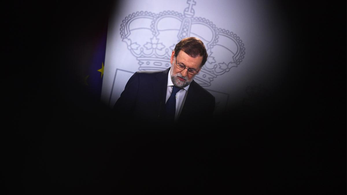 Dimite Mariano Rajoy. (Foto: AFP) | Moción de censura Rajoy: Última hora