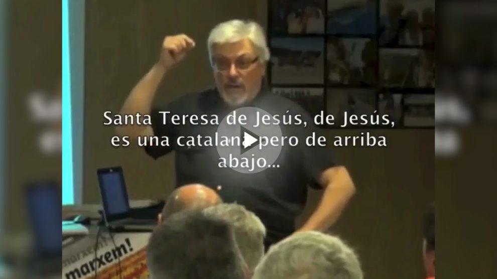 Víctor Cucurull, en una conferencia ofrecida en junio de 2013.