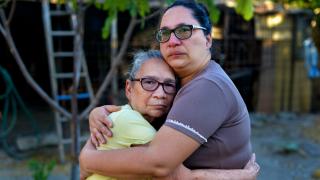 """Una de las fotografías de la serie """"Venezuela: Paper Towns"""""""