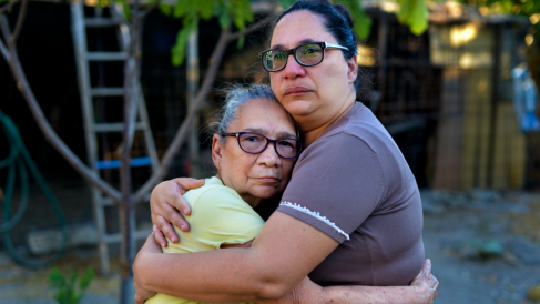 Una de las fotografías de la serie «Venezuela: Paper Towns»