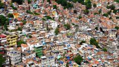Vista de una favela