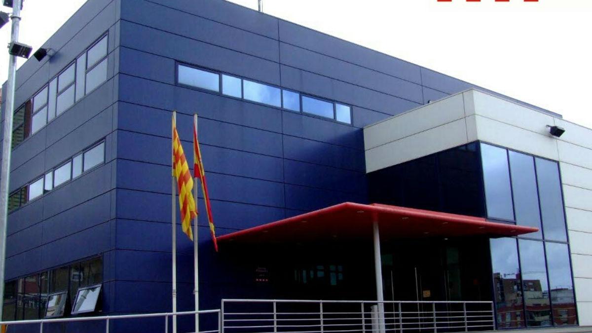 Comisaría de Mossos en Hospitalet de Llobregat.
