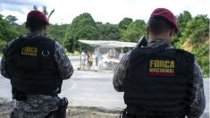 Policías brasileños (Foto: AFP).