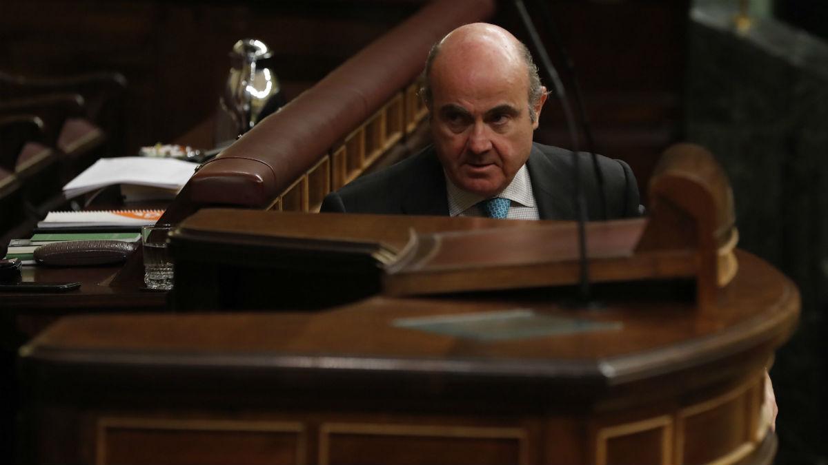 El ministro de Economía, Luis de Guindos (Foto:EFE)