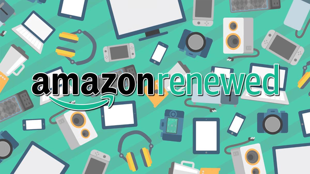 Amazon Renewed te ofrece productos probados y certificados que funcionan y parecen nuevos a precios bajos para que ahorres en las marcas que te gustan