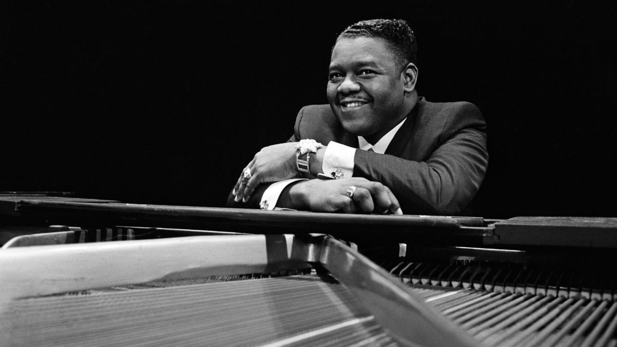 El pianista y cantante Fats Domino, en 1967. (Foto: Getty)