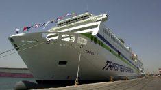 El ferry de Transmediterránea «Sorolla». (Foto: EFE)