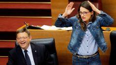 Ximo Puig y Mónica Oltra. (Foto: EFE)