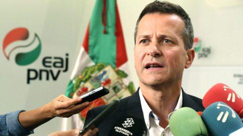 El senador del PNV JokinBildarratz en una reciente imagen (Foto: Efe).