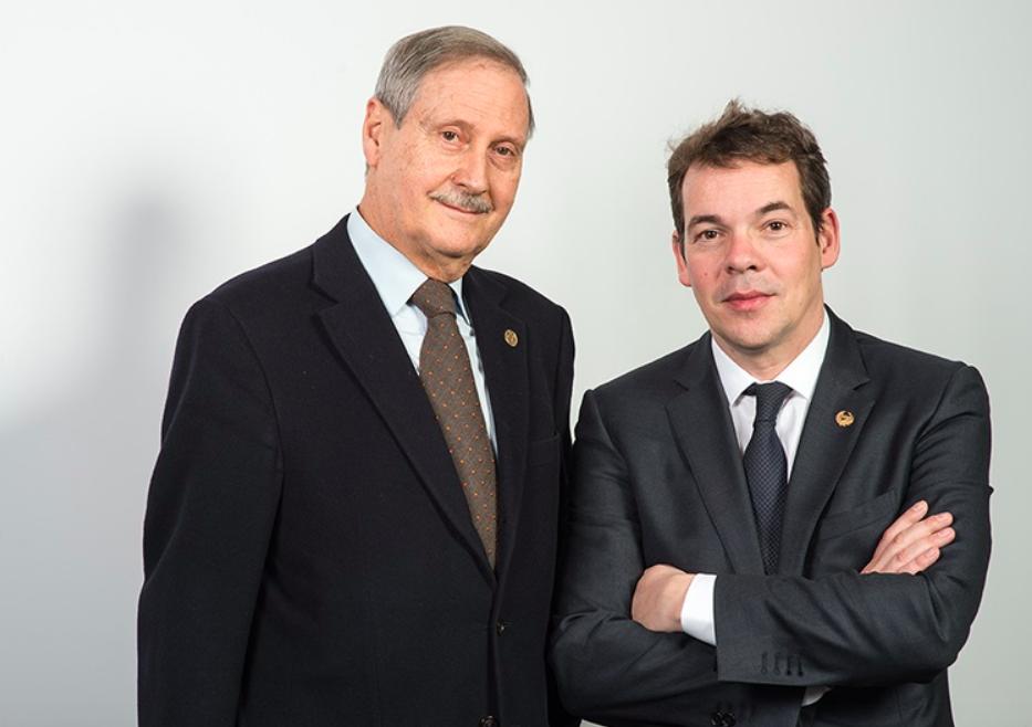 Francisco Gutiérrez y Oriol Altisench. (Foto. Camins)
