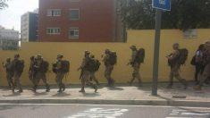 Unidades del Ejército en Barcelona