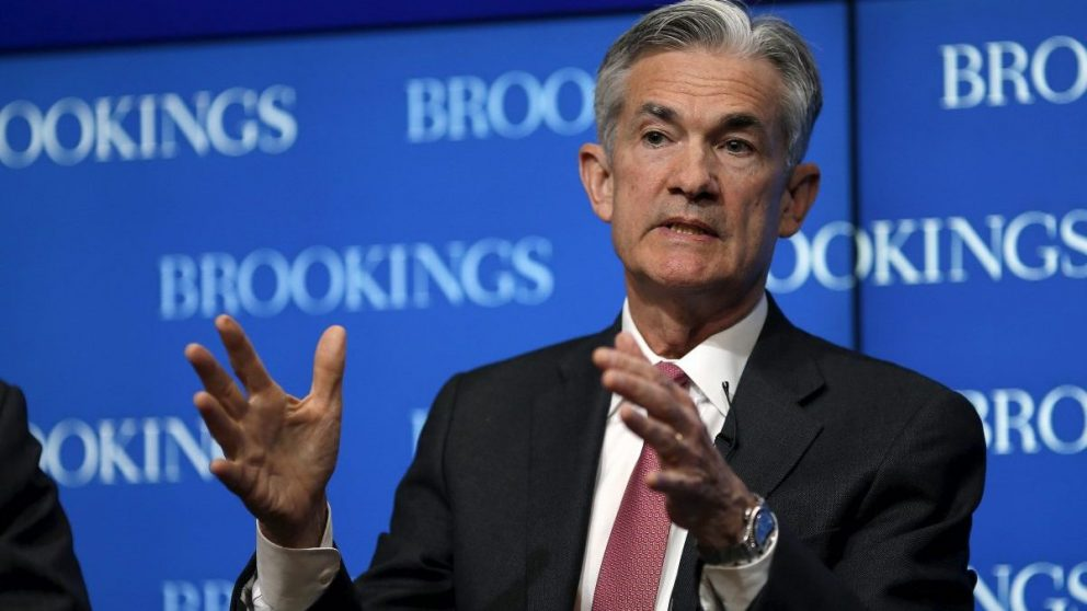 Jerome Powell, economista y miembro de la Fed (Foto. Getty)