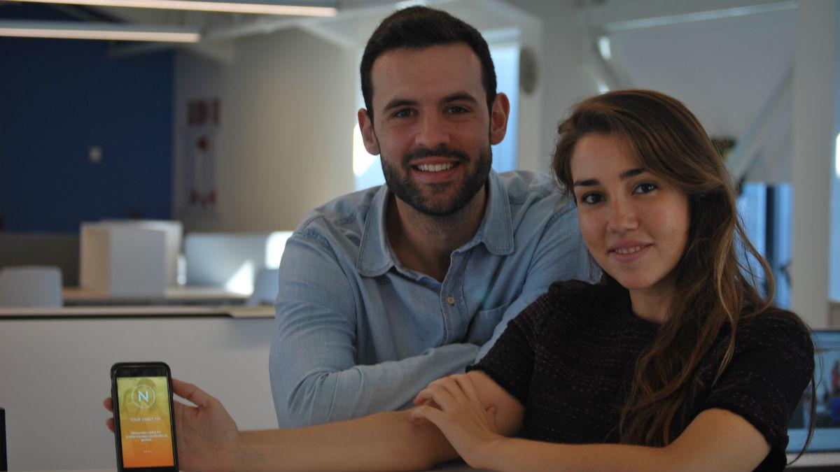 Sara López y Borja Cembrero, fundadores de Naiz Fit (Foto: Naiz Fit)