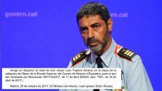 Josep Lluís Trapero. (Foto: AFP)